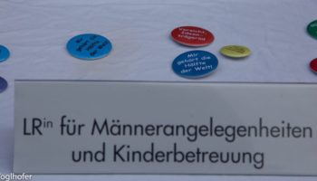 #OhneUnsVielSpaß Parallelregierung Silja Kempinger LR für Männerangelegenheiten und Kinderbetreuung