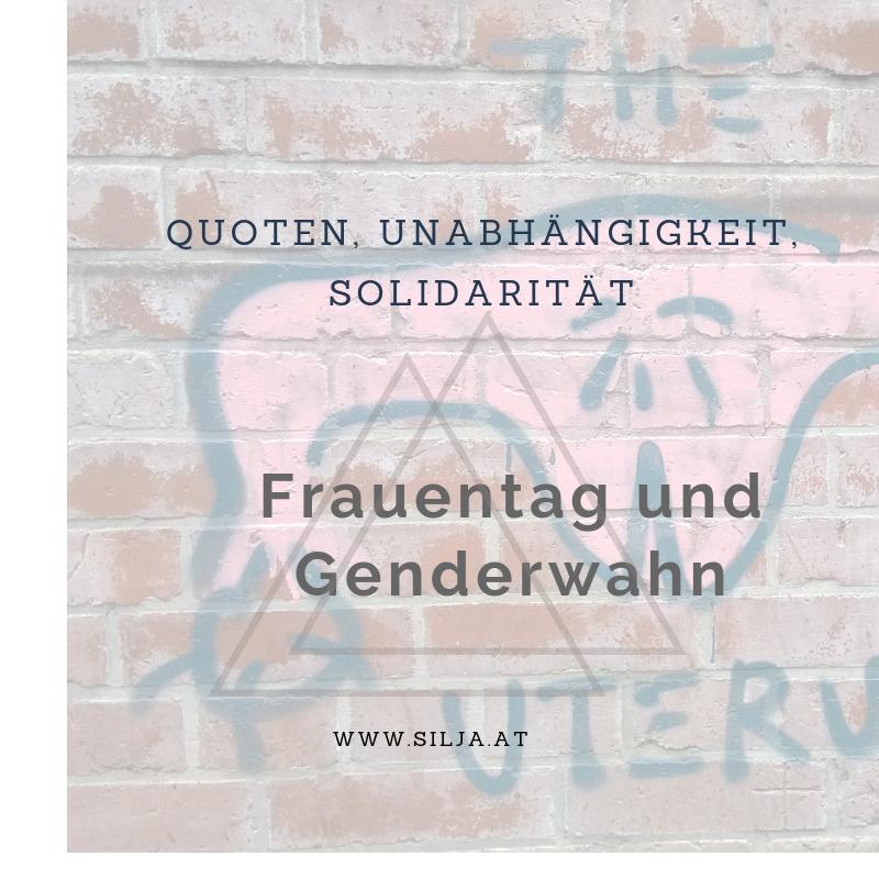 Frauentag und genderwahn silja kempinger